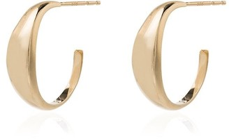 Loren Stewart Crescent Hoop Earrings
