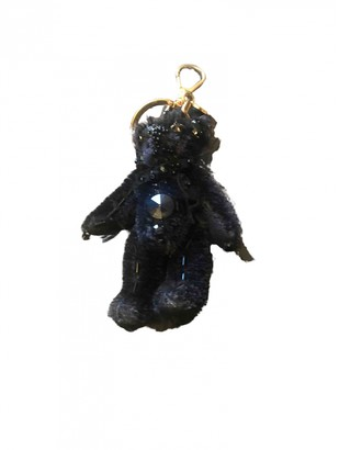 Prada Black Cloth Bag charms