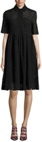 Orla Kiely Women's Lace A Line Shirt Dress