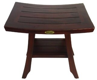 Satori Decoteak Solid Teak Shower Seat Decoteak