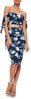 Missguided Women's High Waist Midi Skirt