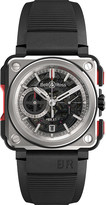 Bell & Ross BRX1-CE-TI-RED titanium and rubber chronograph watch