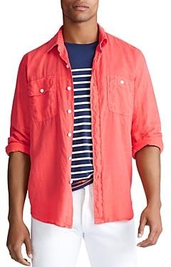 Polo Ralph Lauren Linen Classic Fit Shirt