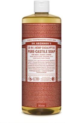Dr. Bronner's Organic Eucalyptus Castile Liquid Soap 946Ml