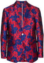 DSQUARED2 floral jacquard blazer