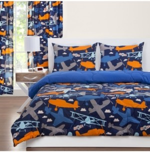 Crayola Take Flight 6 Piece Full Size Luxury Duvet Set Bedding