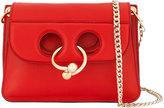 J.W.Anderson Mini Red Pierce Cross-Body Bag - women - Leather/metal - One Size