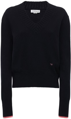 Victoria Beckham Cashmere Knit V Neck Sweater