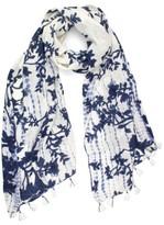 Michael Stars Women's Tie Dye Garden Scarf
