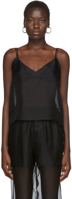 Arch The Black Silk V-Neck Tank Top