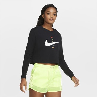 Nike Women's Long-Sleeve T-Shirt Sportswear