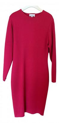 Gianfranco Ferre Red Wool Dresses