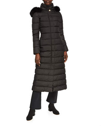 Herno Detachable Fur-Lined Long Down Parka