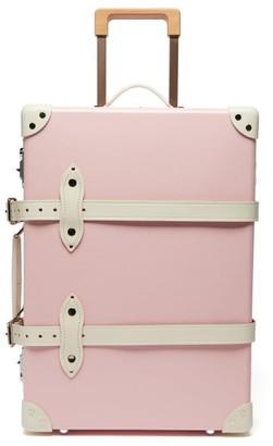 Globe-trotter Globe Trotter Riviera Centenary 20 Cabin Suitcase - Womens - Pink White