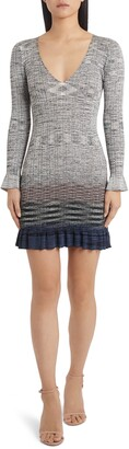 Missoni Degrade Long Sleeve Sweater Dress