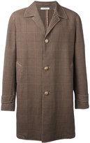 Boglioli checked coat - men - Cotton/Paper/Acetate/Cupro - 48