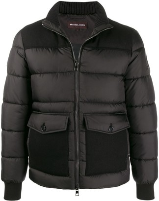 Michael Kors padded bomber jacket