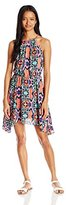 My Michelle Juniors' Allover Printed Dress