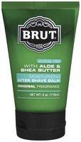 Brut Moisturizing After Shave Balm Original Fragrance With Aloe & Shea Butter by for Men-4 oz After Shave