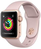 Apple Refurbished Watch Series 3 GPS, 38mm Aluminum Case with Pink Sand Sport Band