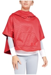 Under Armour Girls' Armour Fleece Emboss Poncho