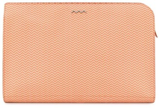 Zanellato textured clutch bag