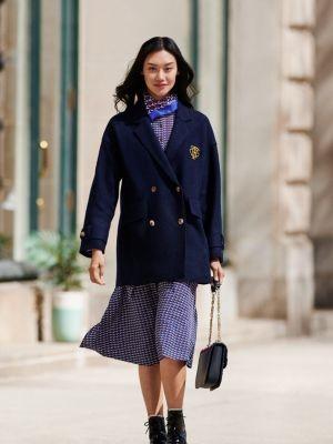 Tommy Hilfiger Boiled Wool Blazer Jacket