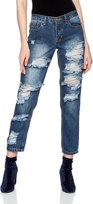 Glamorous Women's Cece Boyfriend Jeans