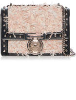 Balmain Studded Box Flap Bag