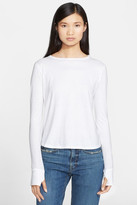 Helmut Lang Cotton & Cashmere Jersey Tee