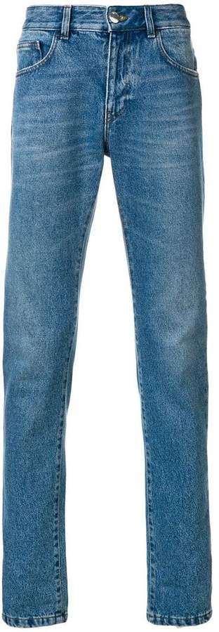 Versus slim-fit jeans