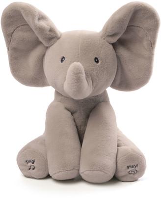 Gund Flappy the Elephant Animated Plush, Gray