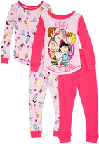 Komar Kids Pink Peanuts 'BFF' Top & Bottom Set - Toddler