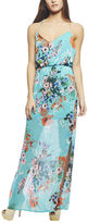 Arden B Bright Floral Maxi Tank Dress