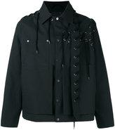 Craig Green laced jacket - men - Cotton - L