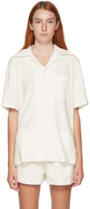 Gil Rodriguez SSENSE Exclusive White Terry Bowling Shirt