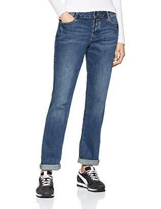 S'Oliver Women's 04.899.71.5323 Straight Jeans, (Blue Denim Stretch 56z3)