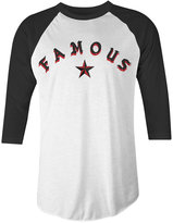 Famous Stars & Straps Men's Sickstep Cotton Graphic-Print Raglan-Sleeve T-Shirt
