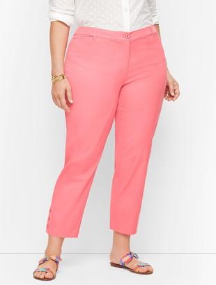 Talbots Perfect Crop Pants - Curvy Fit
