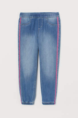 H&M Loose Fit Pull-on Jeans