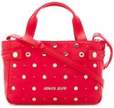 Armani Jeans studded medium tote