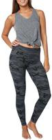 Sundry Black Camo Yoga Pant