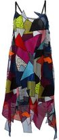 Christopher Kane patchwork dress - women - Silk/Polyamide/Polyester/Spandex/Elastane - 8