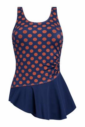 Amoena Women's Alabama Sarong Pocketed Mastectomy Swimsuit