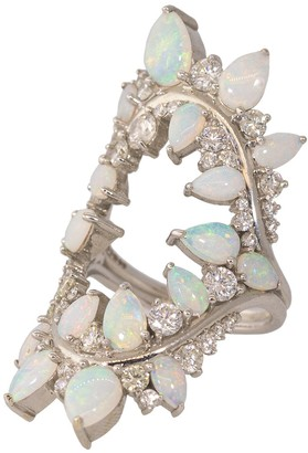 Fernando Jorge Opal and Diamond Electric Shock Ring