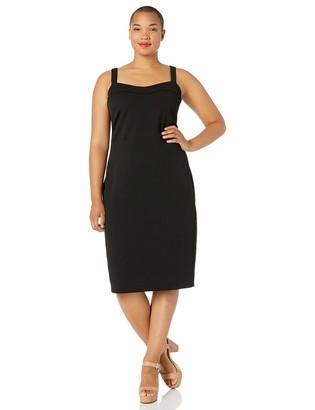 Rachel Roy Women's Plus Size Solid Delilah Dress