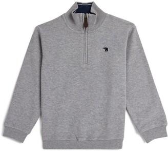 Trotters Half-Zip Oscar Sweater (2-5 Years)