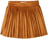 Billieblush Faux Suede Skirt (Toddler/Kid) - Brown - 8 Years