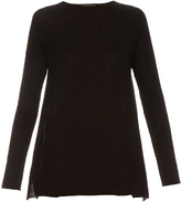 The Row Banny cashmere and silk-blend sweater