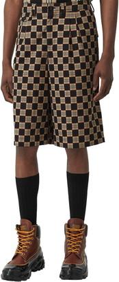 Burberry Dan Chequer Bermuda Shorts